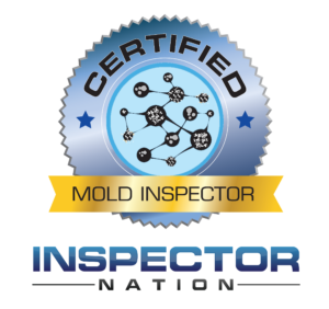 indoor air and mold inspector specialist inspector nation certified home inspector badge emblem icon