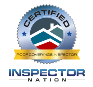 roofing and roof coverings inspector inspector nation certified home inspector badge emblem icon