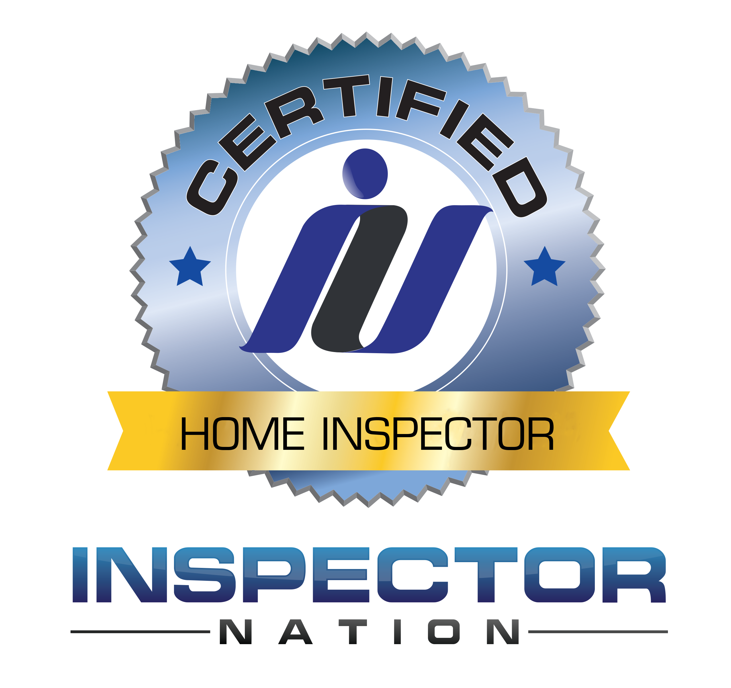 Inspector Nation Home Inspector Cert Logo