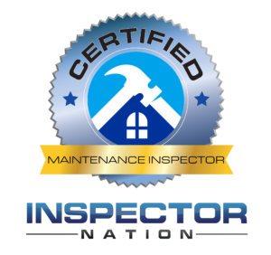 annual maintenance inspector inspector nation certified home inspector badge emblem icon