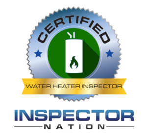 water heater inspector inspector nation certified home inspector badge emblem icon