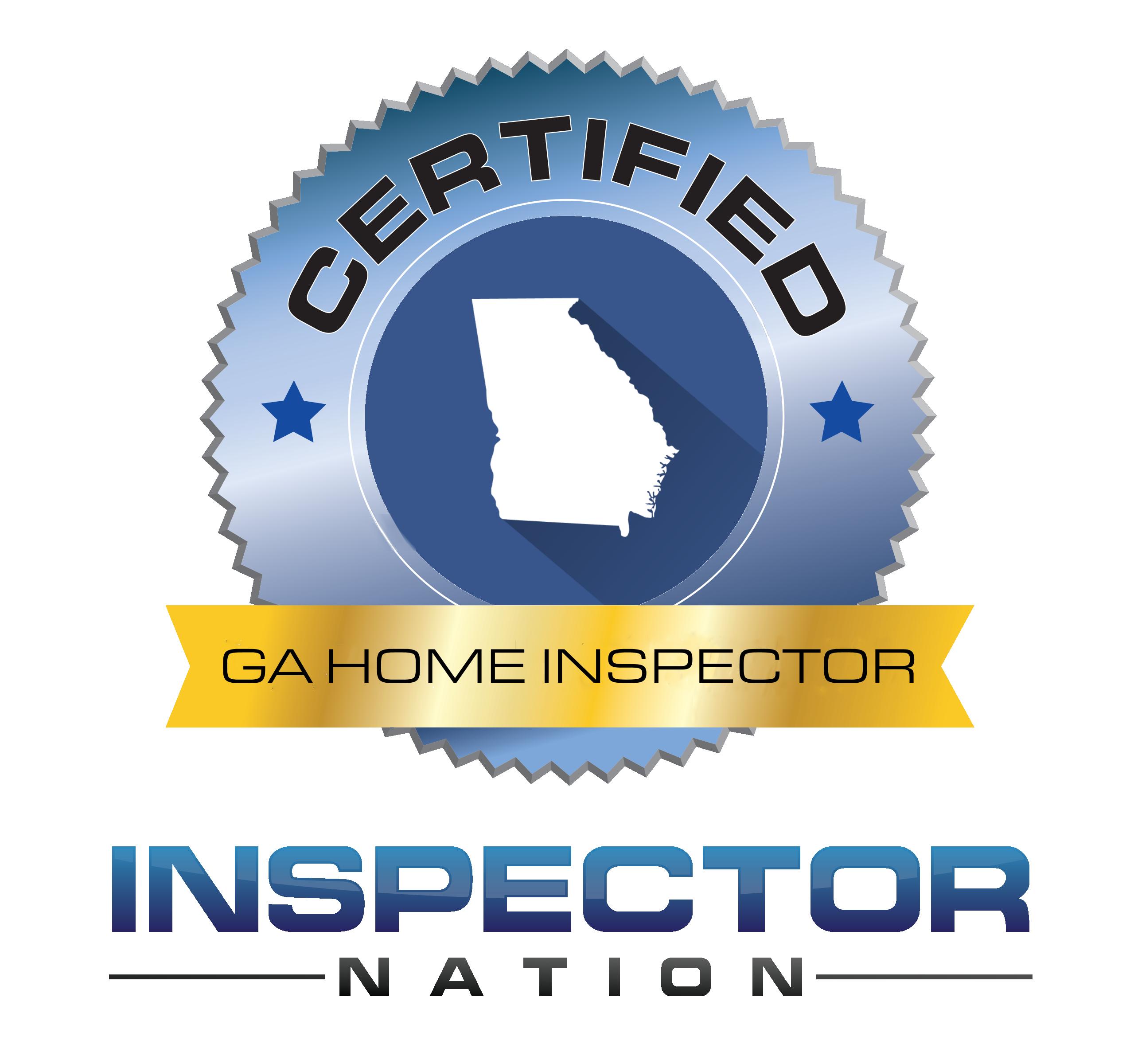 inspector nation certified home inspector badge georgia ga